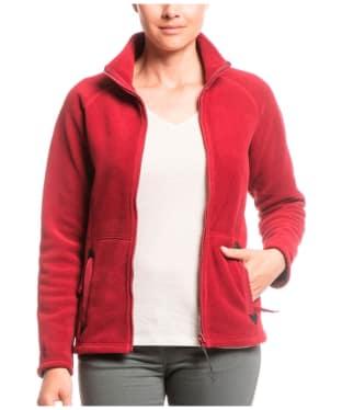 Women's Aigle Inglisa Fleece Jacket - Bordeaux