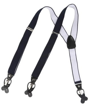 Men's Soprano Luxury Braces - Navy