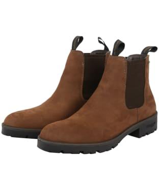 Men's Dubarry Wicklow Leather Boots - Walnut