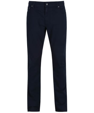 Men's Hackett Trinity Cotton Twill Trousers - Navy