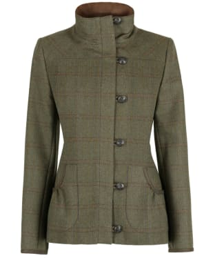 Women's Dubarry Bracken Tweed Jacket - Connacht Acorn