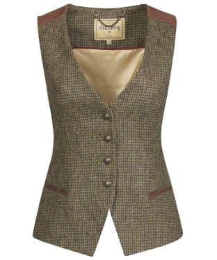 Women's Dubarry Daisy Tweed Waistcoat - Heath