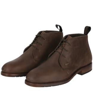 Men's Dubarry Waterville Leather Boots - Bourbon