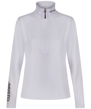Women's Musto ZP 176  X Country Top - White
