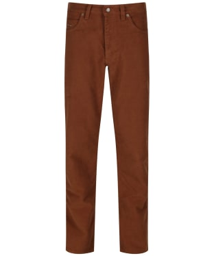 Men's R.M. Williams Overseer Luxury Moleskin Jeans - Camel