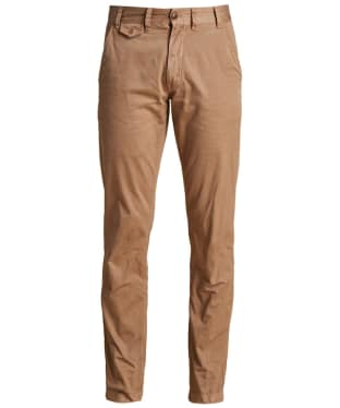 Men's Barbour Neuston Twill Chinos - Sand