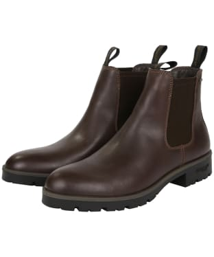 Men's Dubarry Wicklow Leather Boots - Mahogany