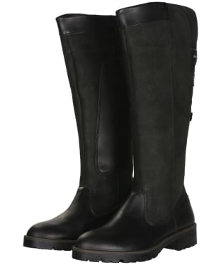 Women's Dubarry Clare Country Leather Boots - Black