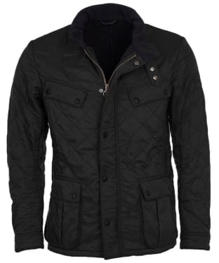 Men's Barbour International Ariel Polarquilt Jacket - Black