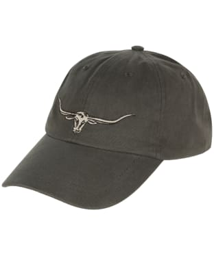 Men's R.M. Williams Steer's Head Cap - Silt