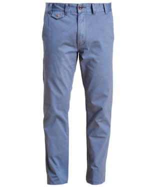 Men's Barbour Neuston Twill Chinos - Dark Chambray