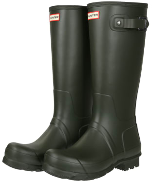 Men's Hunter Original Tall Wellington Boots - Dark Olive