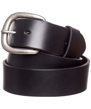 "Men's R.M. Williams 1 1/2"" Traditional Belt - Black"