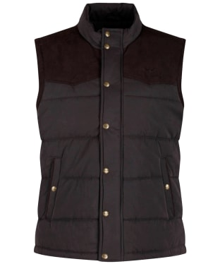 Men's R.M. Williams Carnarvon Vest - Chocolate