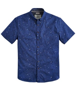 Men's Joules Lloyd Slim Fit Shirt - Blue Bird