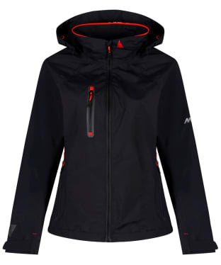 Women's Musto Sardinia BR1 Waterproof Jacket - Black / Fire Orange