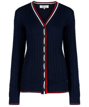 Women's Dubarry Gort Cable Cardigan - Navy