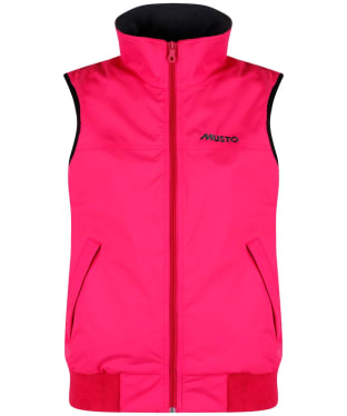 Women's Musto Snug Gilet - Bright Rose