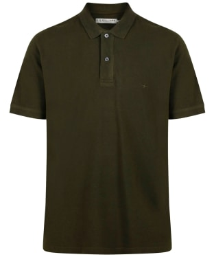 Men's R.M. Williams Rod Polo Shirt - Dark Green