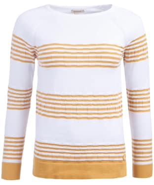 Women's Barbour Headland Knit - Harvest Gold