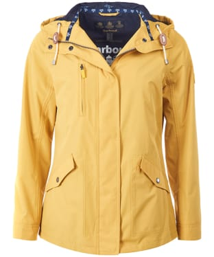 Women's Barbour Headland Waterproof Jacket - Harvest Gold