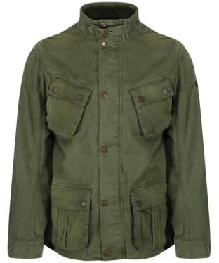 Men's Barbour International Rumble Jacket - Military Green