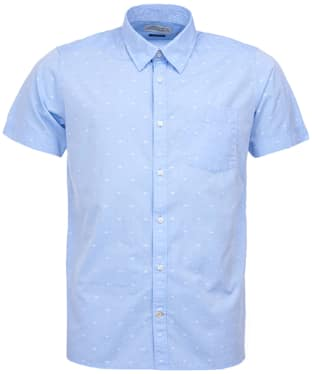 Men's Barbour Crab Short Sleeved Shirt - Chambray