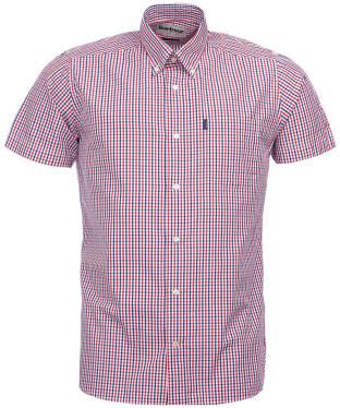Men's Barbour Alston Check Shirt - Red Check