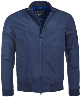 Men's Barbour International Runnel Waterproof Jacket - Navy