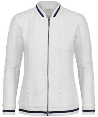 Women's Barbour Kelsey Sweatshirt Jacket - Cloud