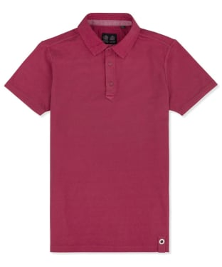 Men's Musto Canvas Collar Polo Shirt - Cardinal Red