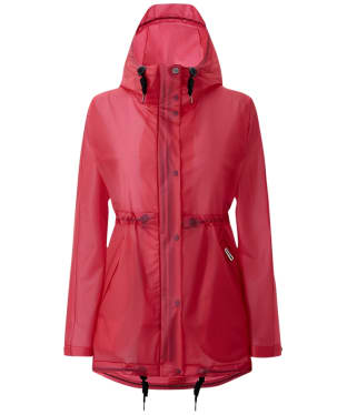 Women's Hunter Original Vinyl Waterproof Smock - Bright Pink