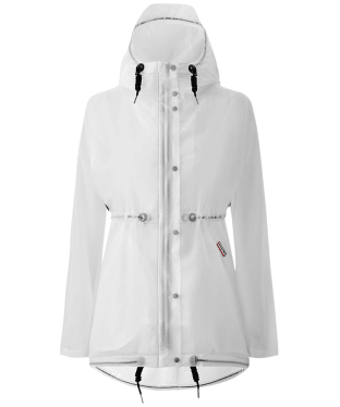 Women's Hunter Original Vinyl Waterproof Smock - White