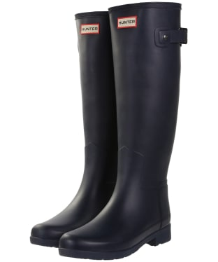 Women's Hunter Original Refined Wellington Boots - Navy