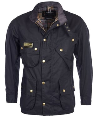Men's Barbour International Original Wax Jacket - Black