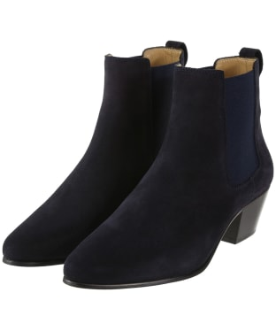 Women's Fairfax & Favor Athena Boots - Navy Blue Suede