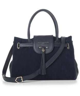 Women's Fairfax & Favor Windsor Handbag - Navy Blue