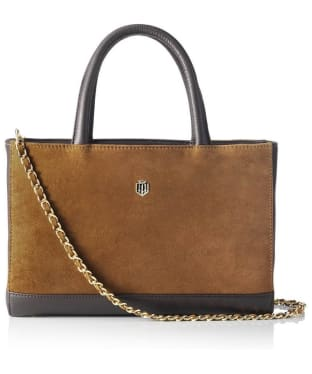 Women's Fairfax & Favor Pembroke Handbag - Tan Leather