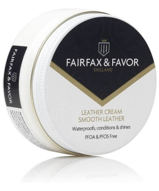 Fairfax & Favor Neutral Leather Cream -