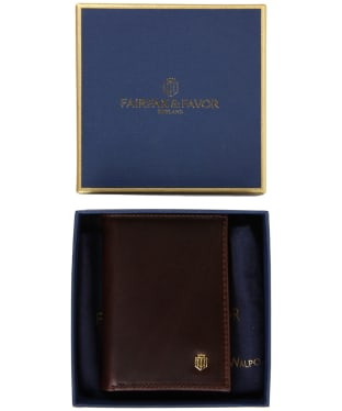 Men's Fairfax & Favor Walpole Wallet - Brown Leather