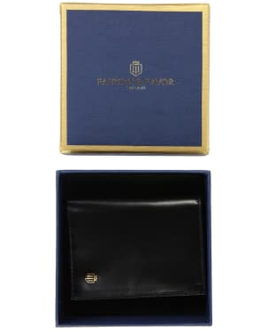 Men's Fairfax & Favor Walpole Wallet - Black Leather