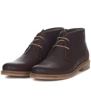 Men's Barbour Readhead Chukka Boots - Dark Brown