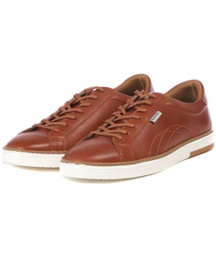 Men's Barbour Howdon Cupsole Trainers - Tan