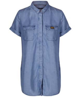 Women's Barbour International Blyton Shirt - Light Chambray