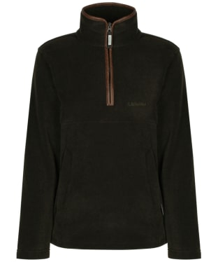 Men's Schoffel Berkeley 1/4 Zip Fleece - Dark Olive