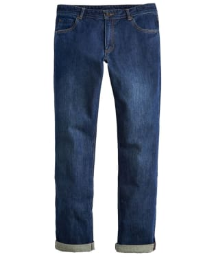Men's Joules Five Pocket Jeans - Washed Denim