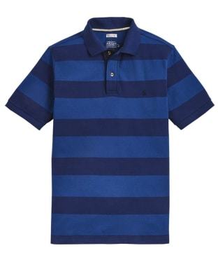 Men's Joules Filbert Polo Shirt - Blue Stripe