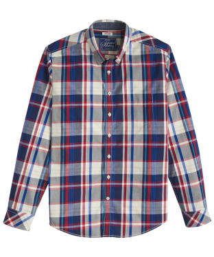 Men's Joules Lyndhurst Slim Fit Shirt - French Navy Check