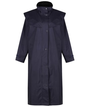 Women's Jack Murphy Heritage Malvern Waterproof Coat - Navy