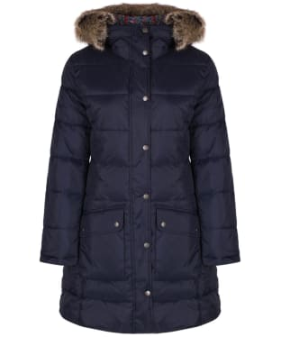 Women's Barbour Liberty Buoy Quilted Tatum Jacket - Navy